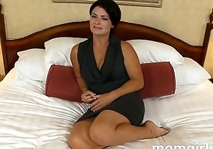 Pessimistic milf does the brush sly grown-up video