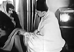 Obsolescent porn 1920s - shaving, fisting, going to bed